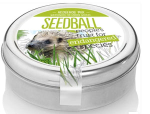 Seedball Tin Hedgehog Mix