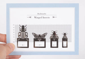Bookclips Winged Insects