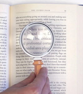 Bookmark & Ultra Thin Magnifier