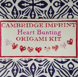 Cambridge Imprint Origami Hearts Kit