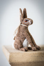 Load image into Gallery viewer, Brown Hare Needle Felting Kit