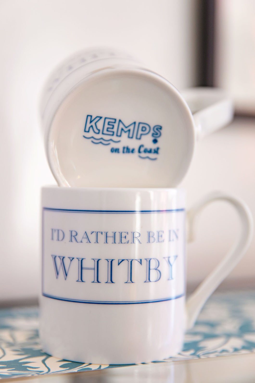 'I'd Rather Be' Mug (In Whitby) Kemps Special Edition