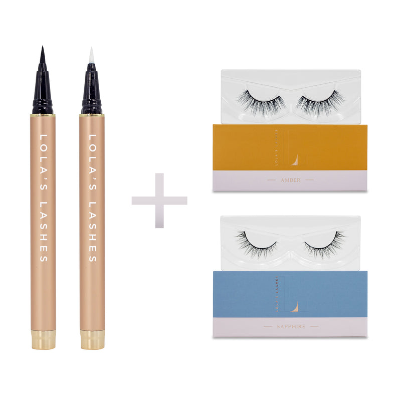 Day to Night Flick & Stick Lash Kit