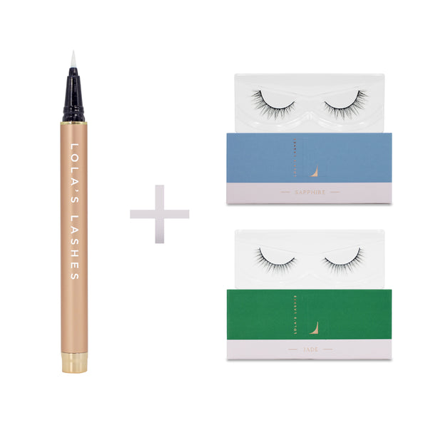 Natural Touch Flick & Stick Lash Kit