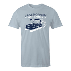 Lake Norman - Light Blue Tee