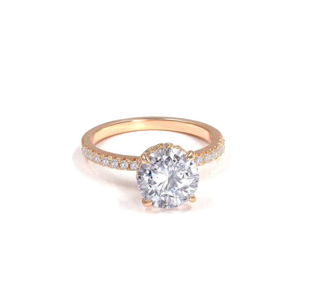 Anastasia 07 Diamond White Ring - Anna Zuckerman Luxury