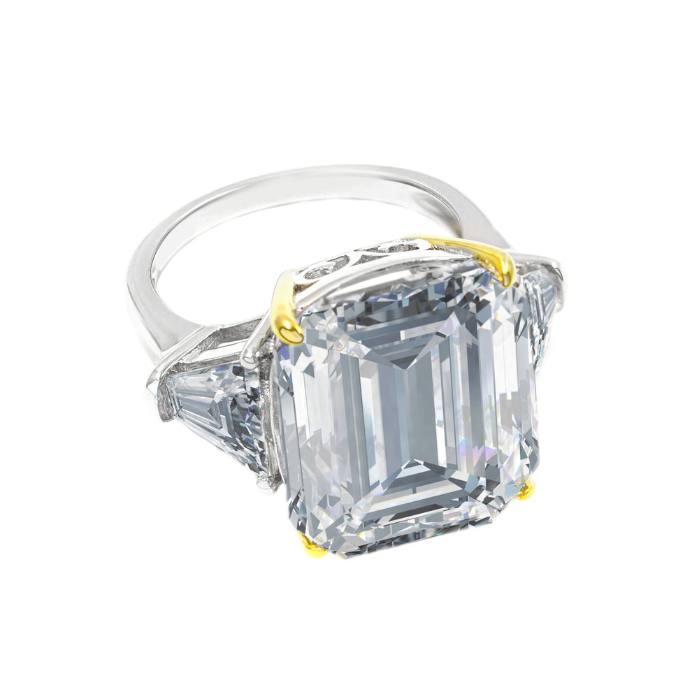 Load image into Gallery viewer, Arabella 03 Ring Diamond White - Anna Zuckerman Luxury