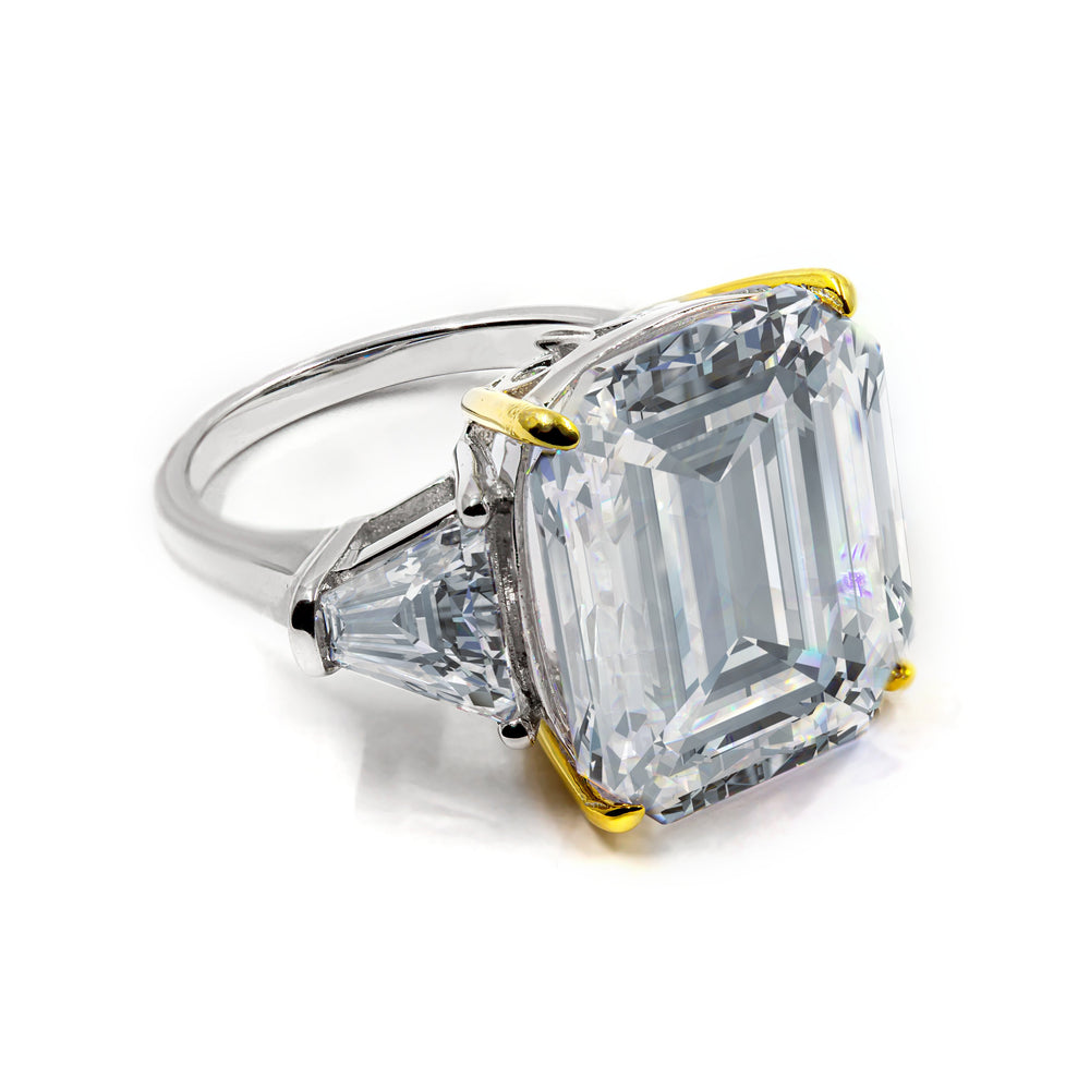 Arabella 03 Ring Diamond White - Anna Zuckerman Luxury