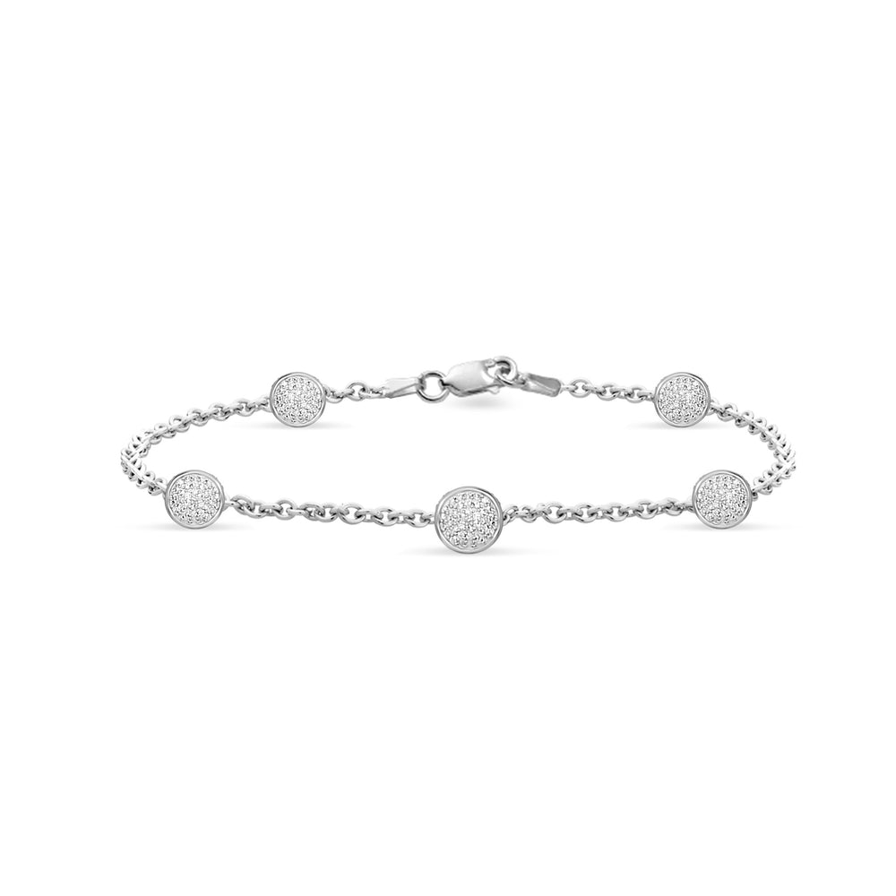 Brooklyn Lights Pav̩ Multi-Sphere Bracelet