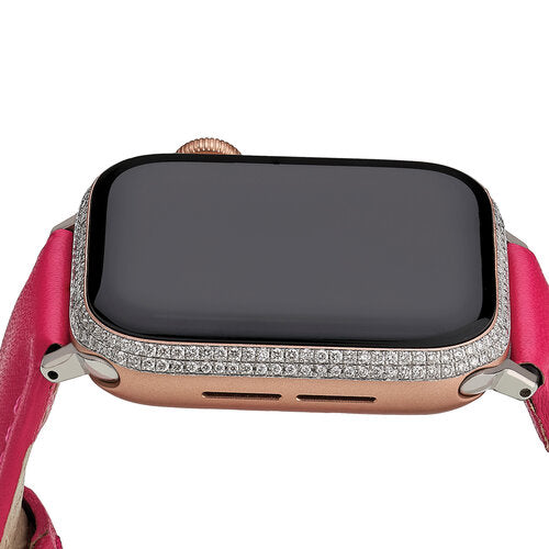 &Diamonds Diamond Double Row Smartwatch - Rose Gold