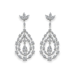 Elizabeth 07 Earrings - Anna Zuckerman Luxury