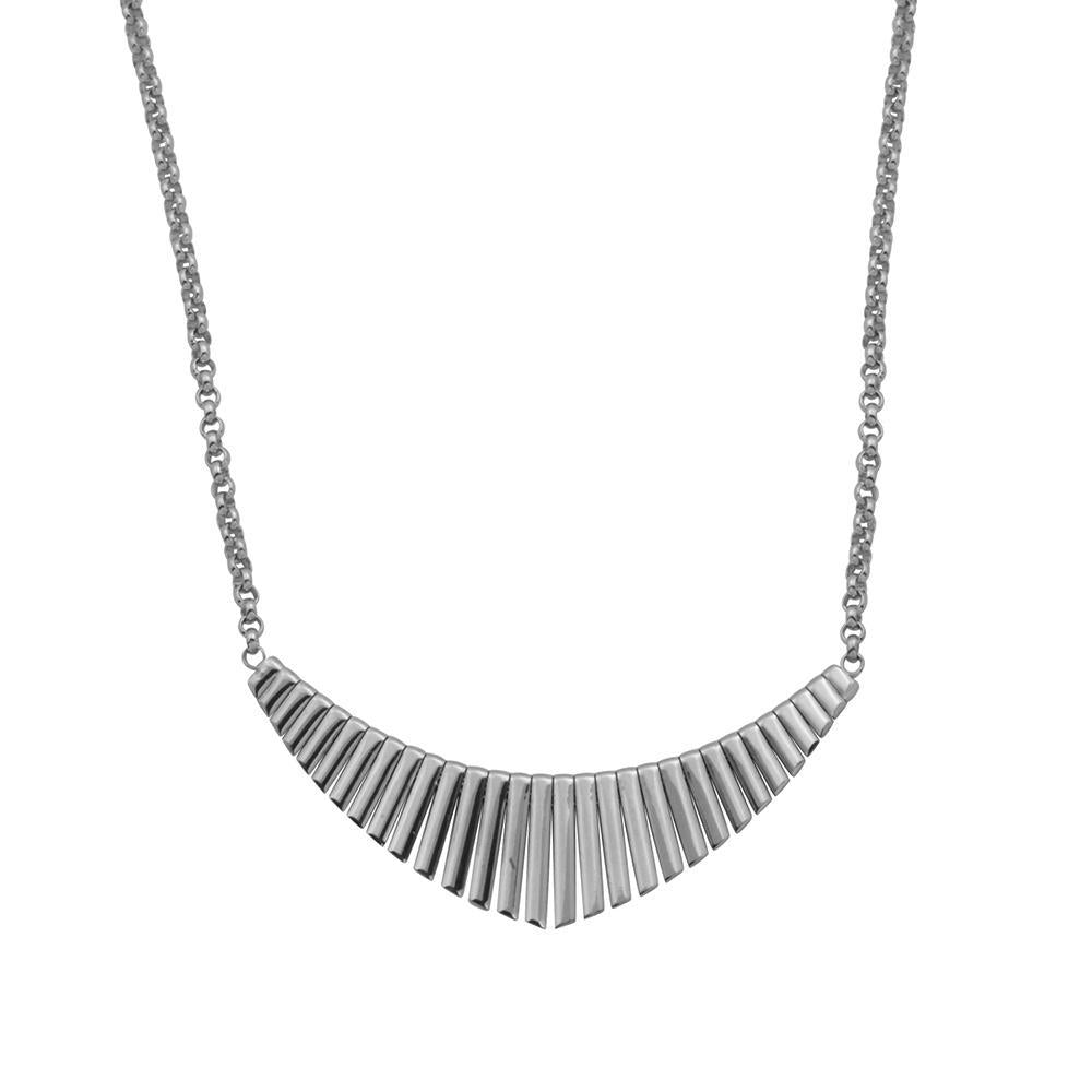 Charles Garnier Paris 1901 Sterling Silver Ocean Necklace