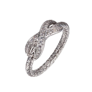 Load image into Gallery viewer, Charles Garnier Paris 1901 Sterling Silver Essence Ring