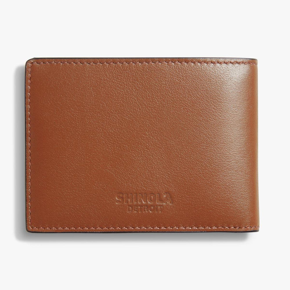 Load image into Gallery viewer, Shinola Striped Slim Bifold Wallet