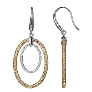 Charles Garnier Paris 1901 Sterling Silver Essence Earring