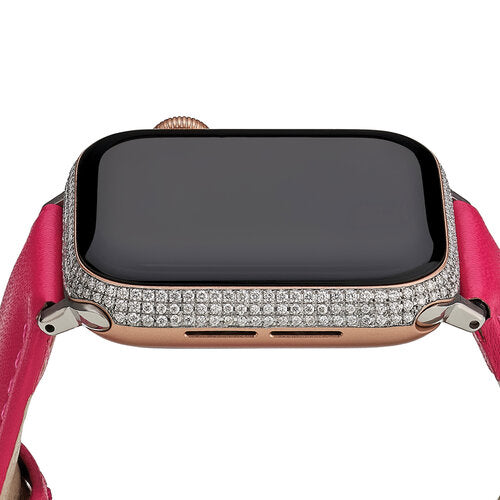 &Diamonds Diamond Triple Row Smartwatch- Rose Gold