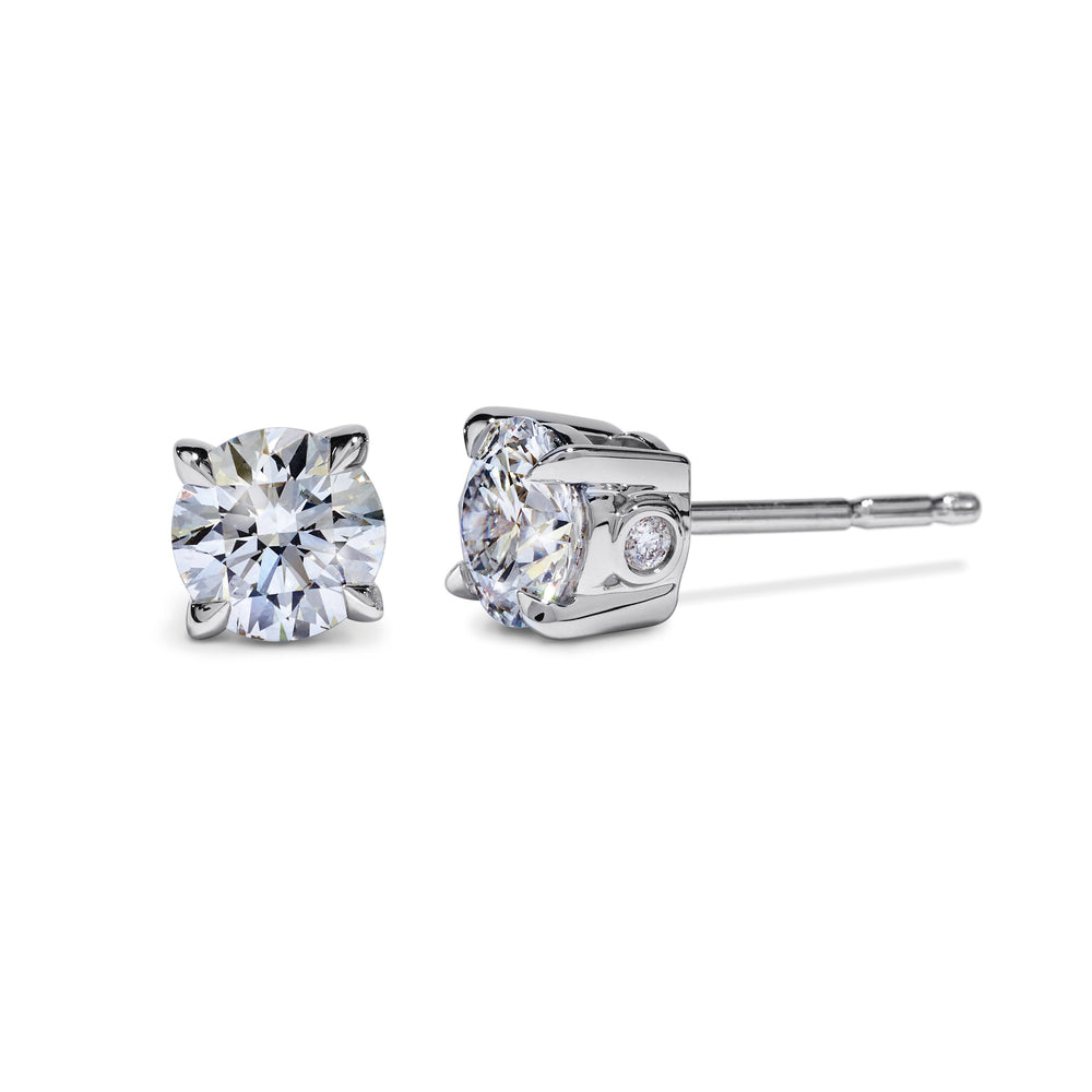 Atelier Swarovski Diama 1Ct Stud Earrings, White Gold