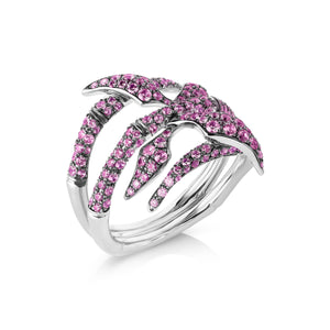 Atelier Swarovski Stephen Webster Bamboo Shoots Ring, Pink