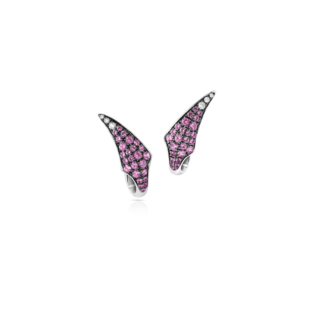 Atelier Swarovski Stephen Webster Bamboo Shoots Stud Earrings, Pink