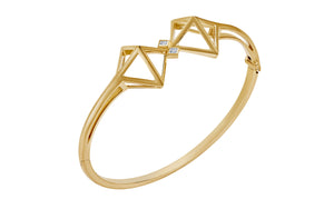 Atelier Swarovski Stephen Webster Double Diamond Bangle