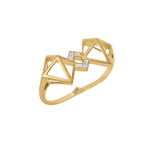 Atelier Swarovski Stephen Webster Double Diamond Double Ring