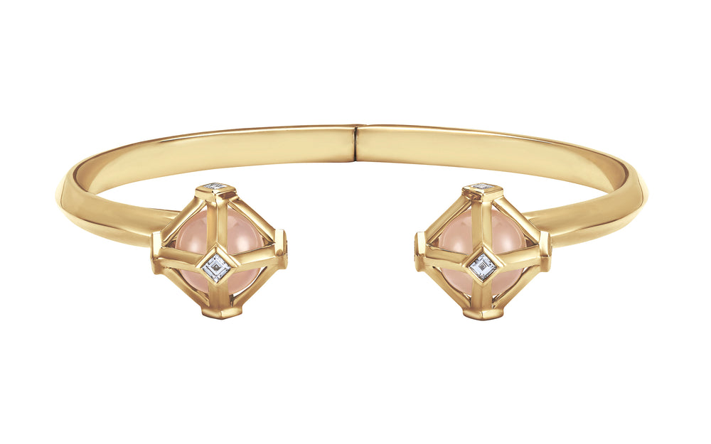 Load image into Gallery viewer, Atelier Swarovski Stephen Webster Double Diamond Open Cuff