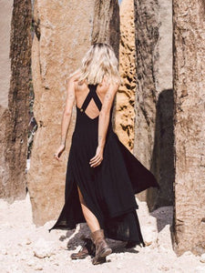 Women's Sexy Slit Dress