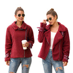 Load image into Gallery viewer, Women's composite plush padded jacket