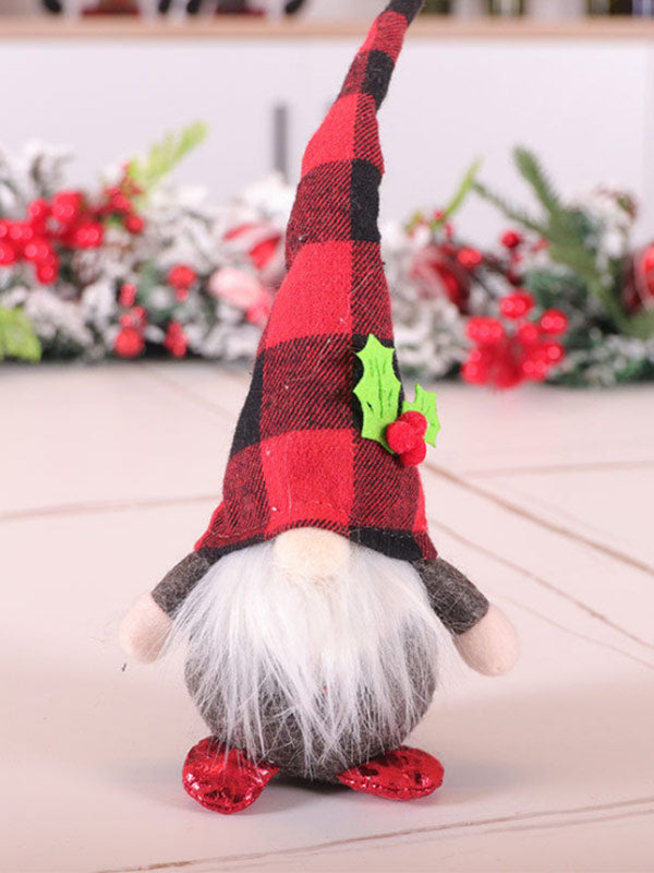 Christmas Rudolph Forest Beard Old Man Decoration Ornaments