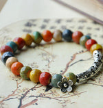 Load image into Gallery viewer, Ethnic style ceramic bead bracelet