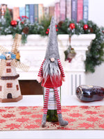Load image into Gallery viewer, Christmas Gnome Wine Bottle Decoration Set