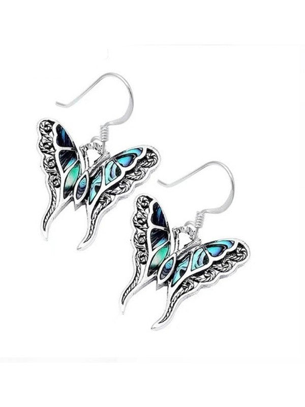 Palace Painted Vintage Butterfly Earrings