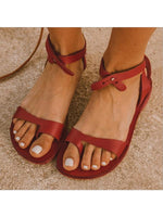 Load image into Gallery viewer, Women's wild toe flat sandals