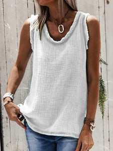 Solid color tank top