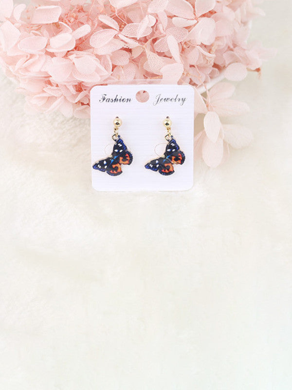 Fashion cute butterfly earrings