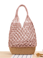 Load image into Gallery viewer, Women's hand-woven open shoulder bag