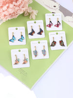 Load image into Gallery viewer, Fashion cute butterfly earrings