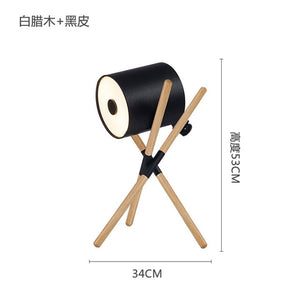 Nordic Tripod Led Floor Lamp Wood Led Wooden Floor Lights Standing Lamp for Living Room Bedroom Bedside Lighting Fixture Lampara