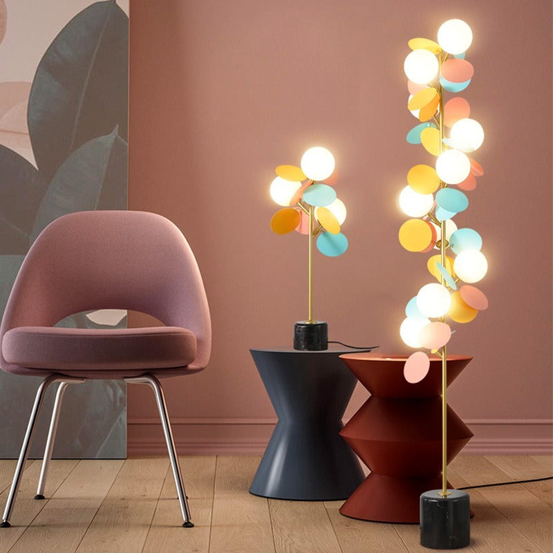 Modern INS Petal LED Floor Lamp ForLliving Room Floor Lights Standing Lamp Bedroom Bedside Indoor Decor Stand Lighting Fixtures
