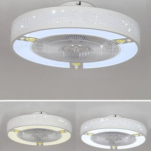 50cm led ceiling fan lamp Fans light bedroom lamps modern minimalist children room home restaurant