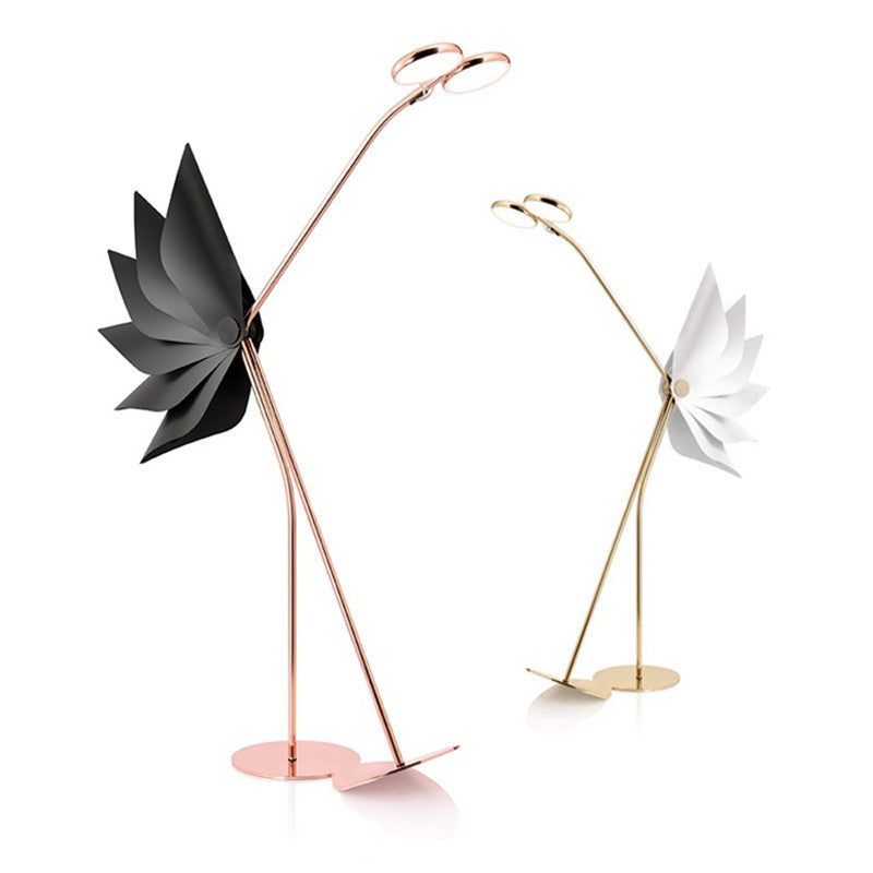 Post-modern Ostrich Floor Lamps Nordic Simple Standing Lamps for Living Room Bedroom Home Decor Ostrich Floor Lights
