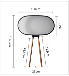 Modern Standing Lamps Living Room Standing Lamp Deco Salon Dining Room Reading Floor Lamp Study Iron Japanese Standing Lampshade