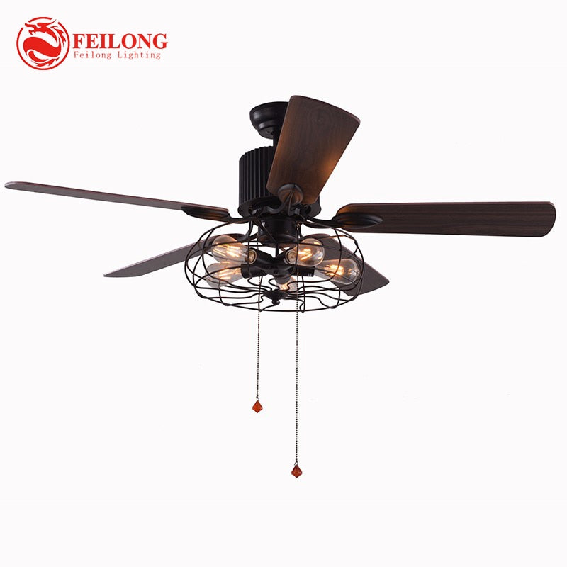 New arrival modern decorative 52inch retractable blade ceiling fans