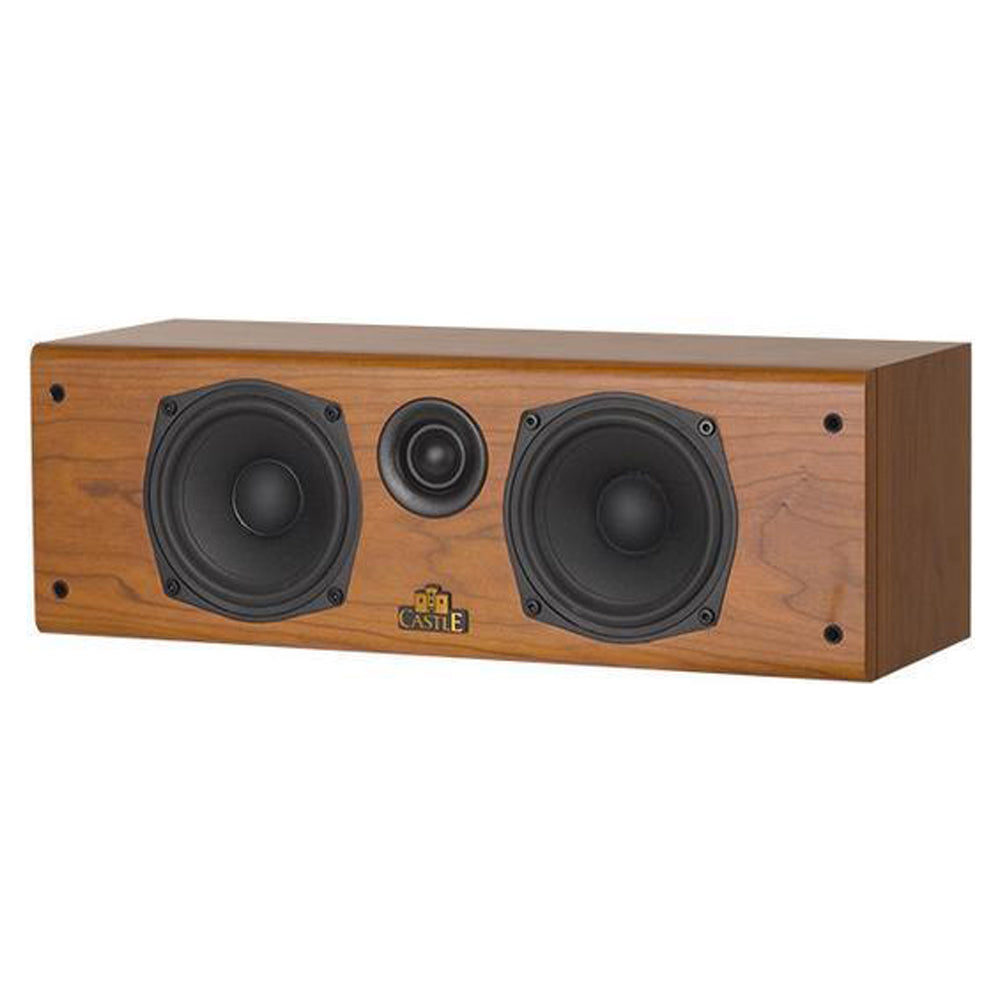 Castle Lincoln C1 - Centre Speaker, Walnut