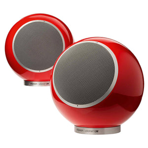 Elipson Planet LW - Wireless Spherical Speaker, Red