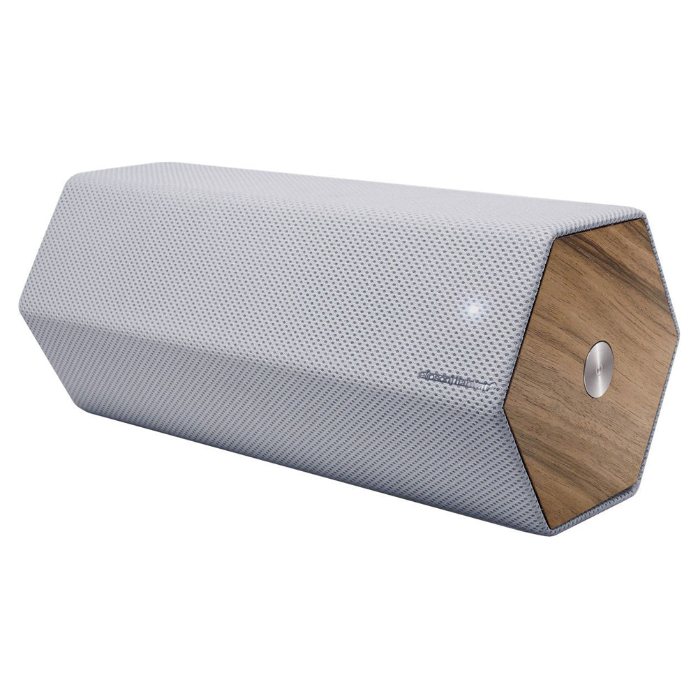 Elipson Timber By Habitat - Active Wireless Speakers, Grey