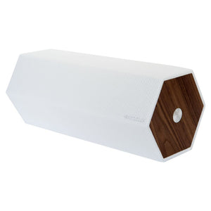 Elipson Timber By Habitat - Bluetooth, Active Wireless Speakers, White