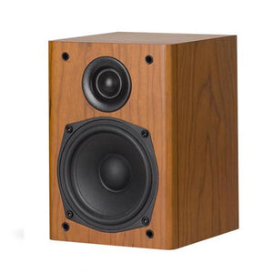 Castle Lincoln S1 - Bookshelf Speaker, Cherry