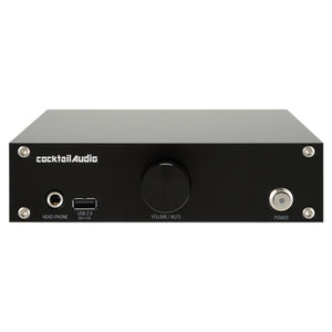 Cocktail Audio N15D - HiFi Network Adapter, Music Storage & Player, Streamer Black