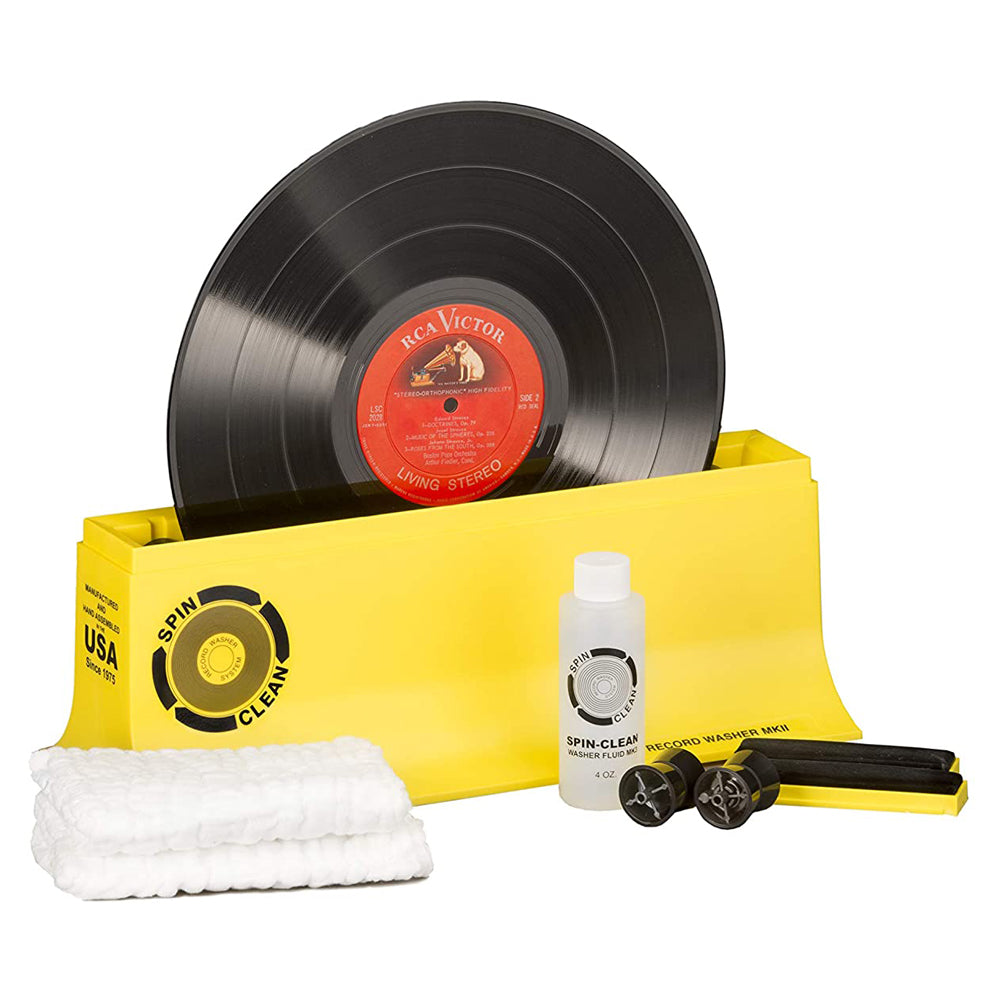 Spin Clean Record Wash - Yellow